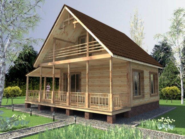 Как строить дачный домик своими руками
