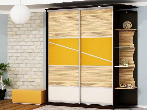 Каталог популярных моделей шкафов купе (фото) - Вариант 4