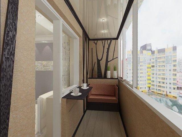 50 вариантов фото новинок штор для балкона - Вариант 6