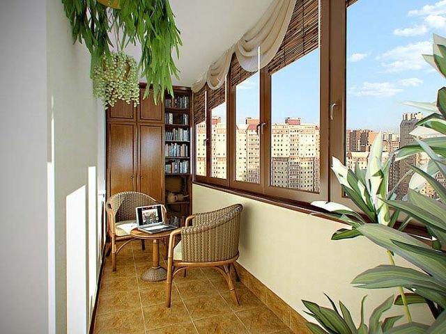 50 вариантов фото новинок штор для балкона - Вариант 19