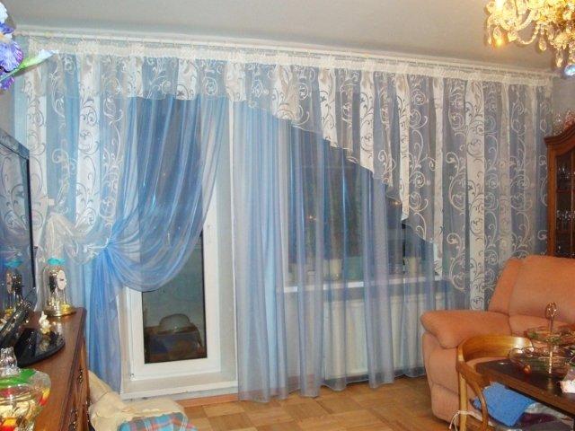 50 вариантов фото новинок штор для балкона - Вариант 5