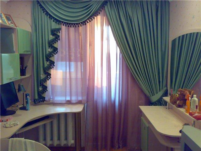 50 вариантов фото новинок штор для балкона - Вариант 13