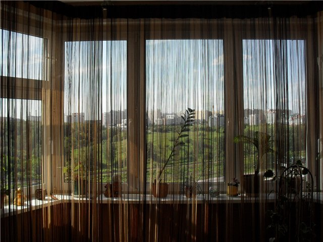 Тюль на балкон: как повесить своими руками фото новинки штор.
