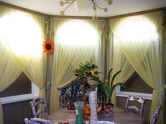 50 вариантов фото новинок штор для балкона - Вариант 20