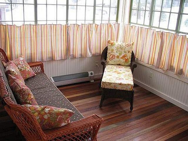 50 вариантов фото новинок штор для балкона - Вариант 4