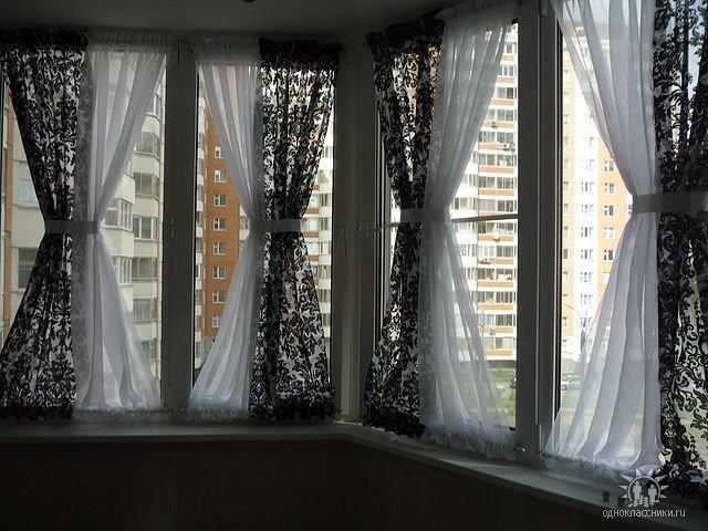 Занавеска на окна своими руками