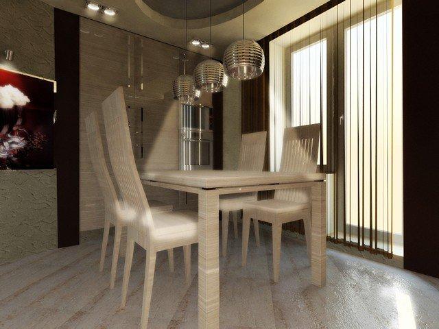 50 вариантов фото новинок штор для балкона - Вариант 23