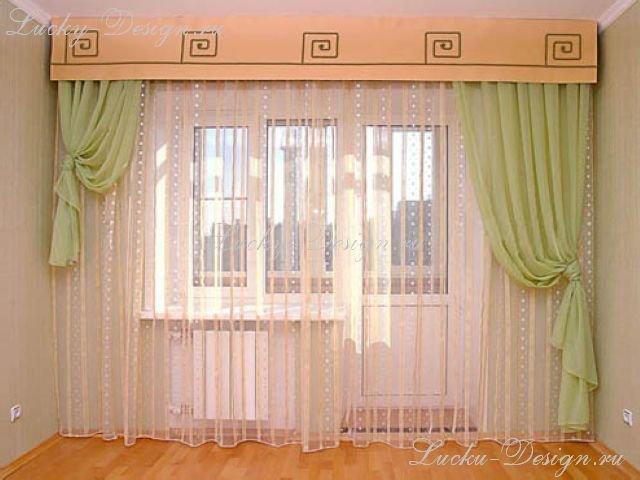 50 вариантов фото новинок штор для балкона - Вариант 15