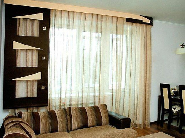 50 вариантов фото новинок штор для балкона - Вариант 14