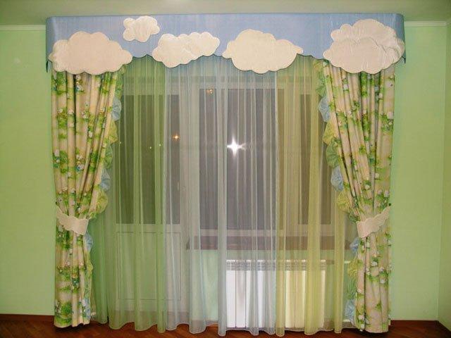 Фото идей тюль и шторы 46
