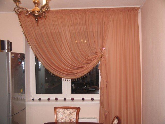 100 вариантов фото штор на люверсах - Вариант 12