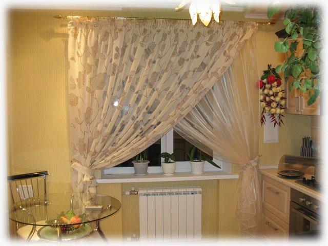Кухонные шторы фото 2014