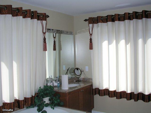 100 вариантов фото штор на люверсах - Вариант 19