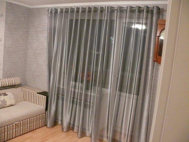 100 вариантов фото штор на люверсах - Вариант 11