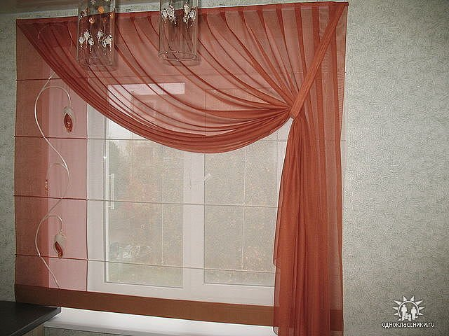 100 вариантов фото штор на люверсах - Вариант 31