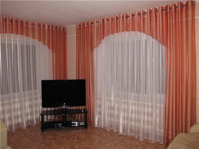 100 вариантов фото штор на люверсах - Вариант 2