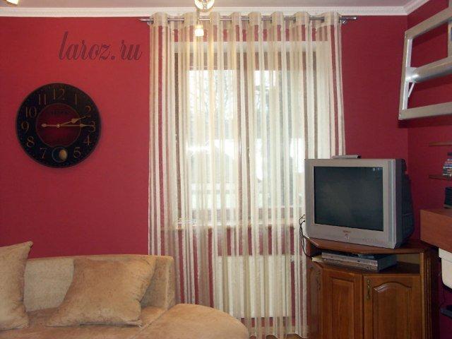 100 вариантов фото штор на люверсах - Вариант 56