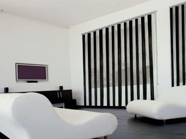 100 вариантов фото штор на люверсах - Вариант 53