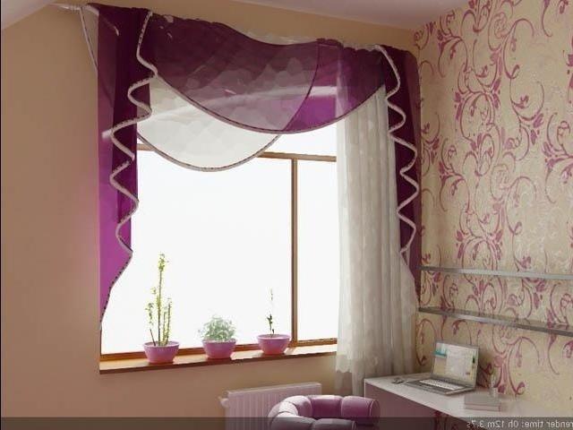 100 вариантов фото штор на люверсах - Вариант 43