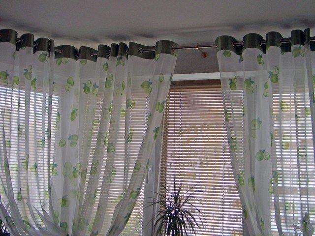 100 вариантов фото штор на люверсах - Вариант 38