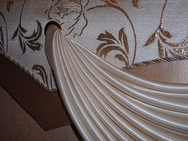 100 вариантов фото штор на люверсах - Вариант 34
