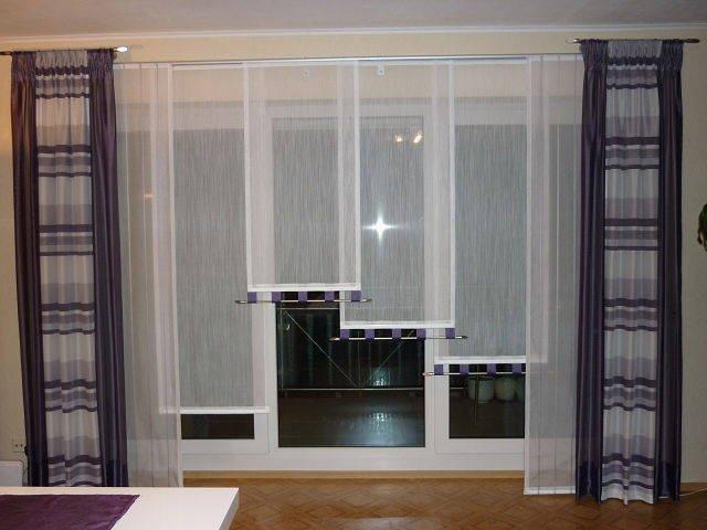 100 вариантов фото штор на люверсах - Вариант 17