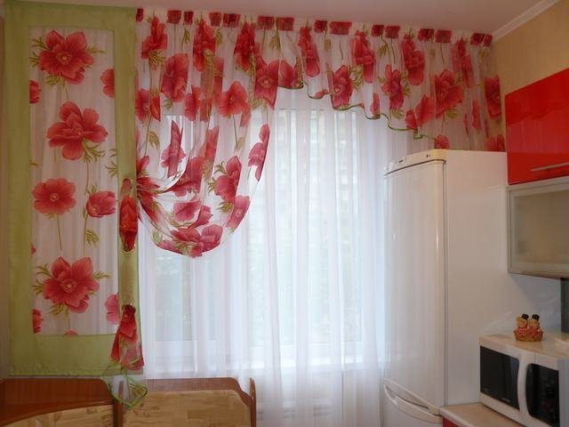 100 вариантов фото штор на люверсах - Вариант 79