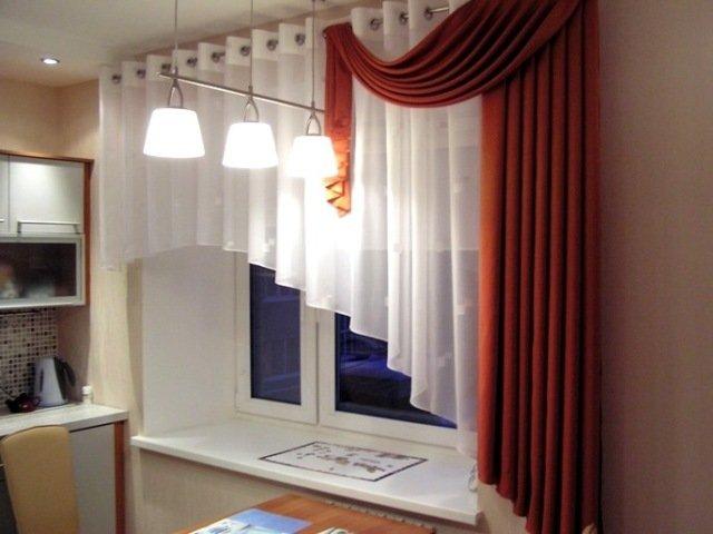 100 вариантов фото штор на люверсах - Вариант 52