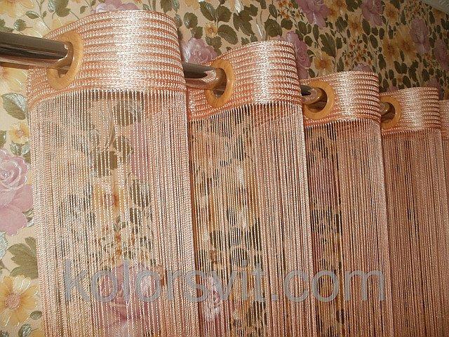 100 вариантов фото штор на люверсах - Вариант 26