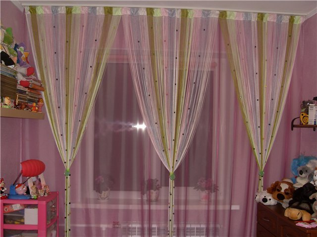 100 вариантов фото штор на люверсах - Вариант 37