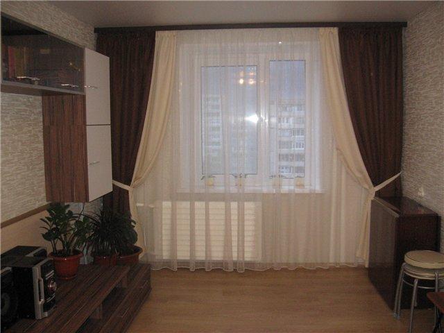 100 вариантов фото штор на люверсах - Вариант 84