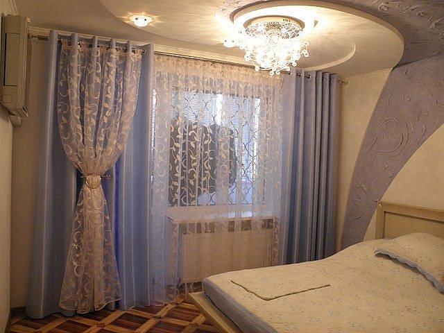 100 вариантов фото штор на люверсах - Вариант 55