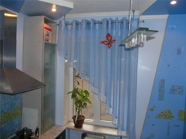Фотогалерея новинок штор для кухни - Вариант 19