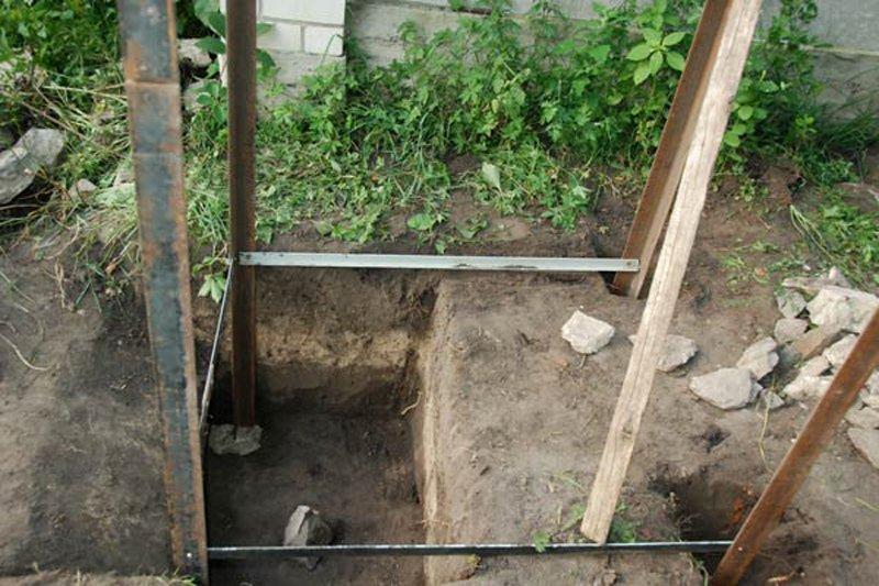 Как своими руками сделать яму для туалета на даче своими руками