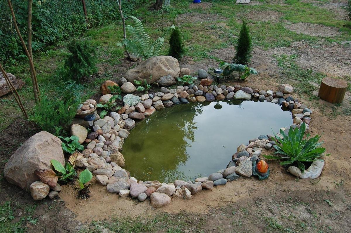 Мини бассейн своими руками на даче фото