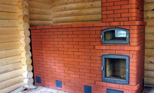 Фото печей из кирпича для дома