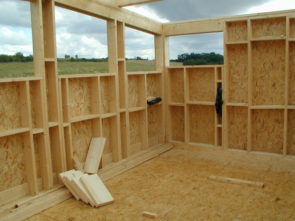Как пристройка к деревянный дому своими руками