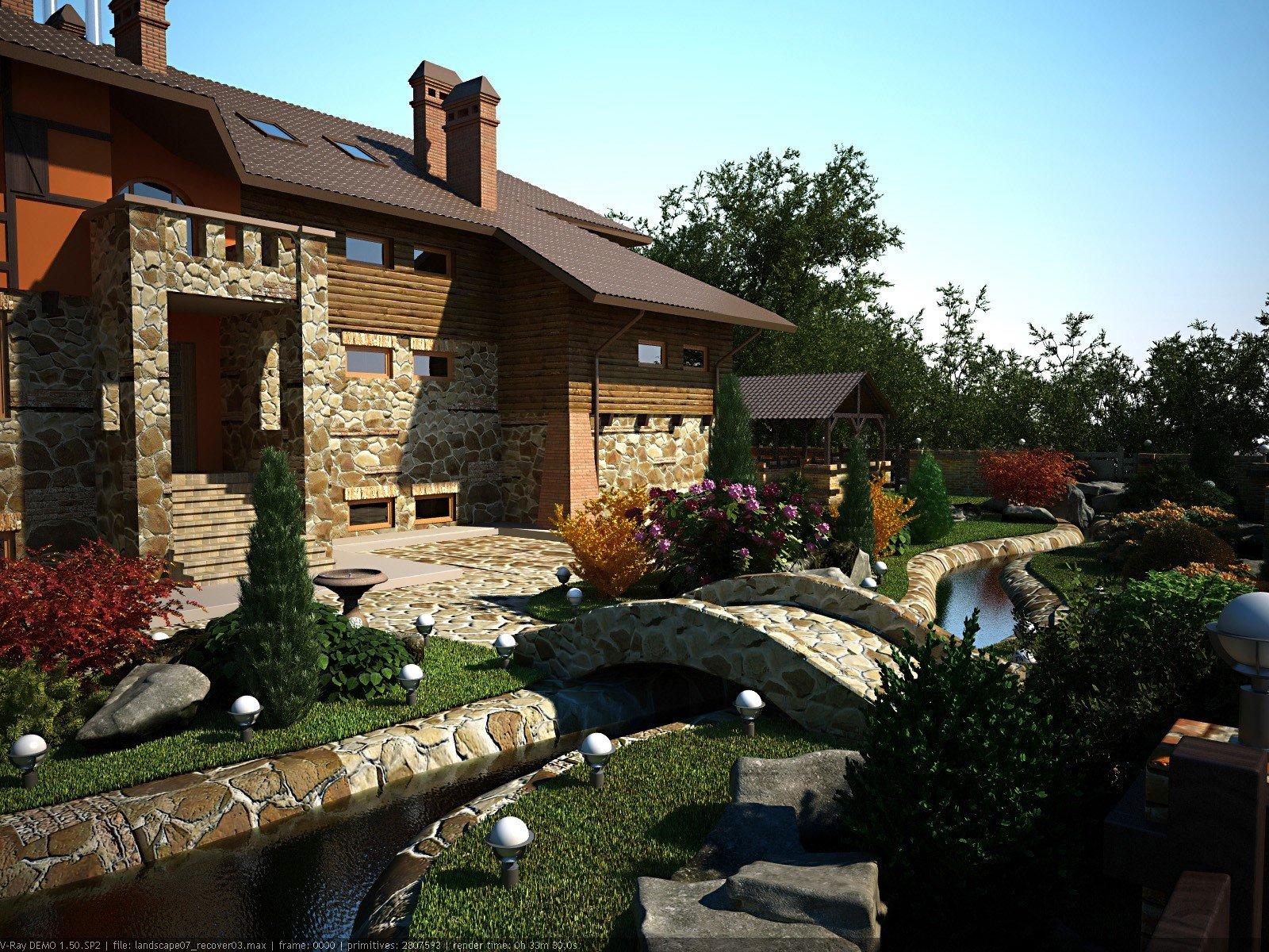 Дизайн фасадов отделка фасадов камнем
