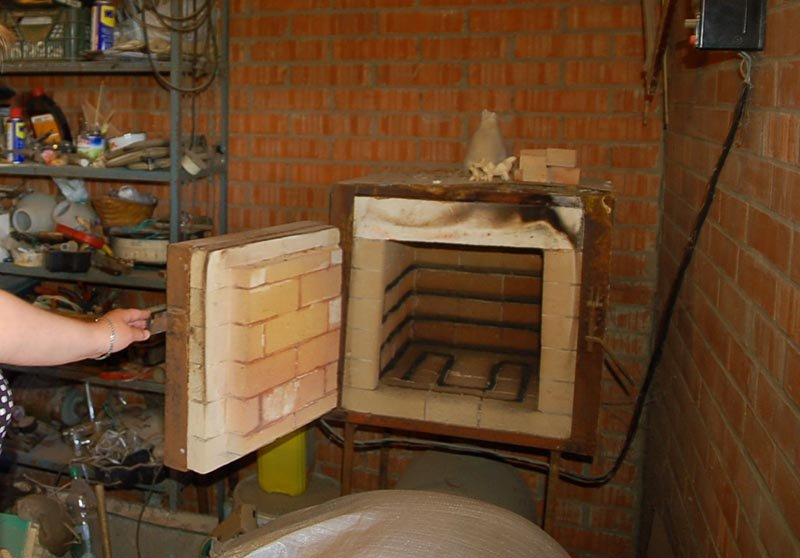 Печи для обжига керамики своими руками