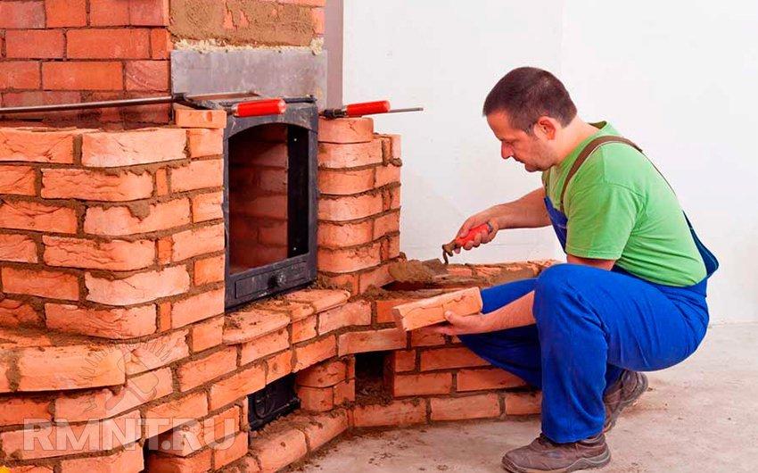 Строительство печь камина своими руками